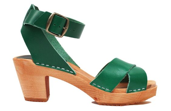 921 ankle strap green vege