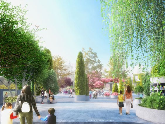 Εγκαταλειμμένος αυτοκινητόδρομος γίνεται πάρκο