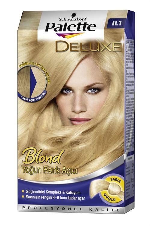 Schwarzkopf Palette Deluxe Blond Yogun Renk Acici Renkler