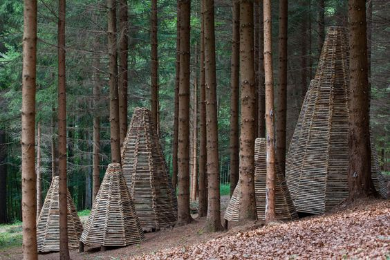 Arte Sella is an international outdoor exhibition of contemporary art set up in 1986 in the fields and woods of the Sella Valley (Val di Sella, municipality of Borgo Valsugana, province of Trento).