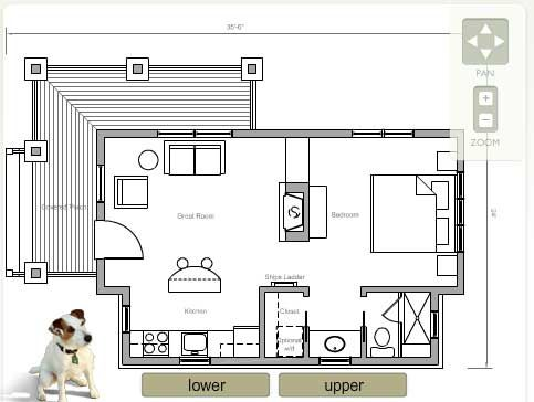 Floor Plan for the House in a Box house  Perfect floor plan for a    Floor Plan for the House in a Box house  Perfect floor plan for a one person tiny home    Tiny Homes  amp  Ideas   Pinterest   Floor Plans  In A Box and A Box