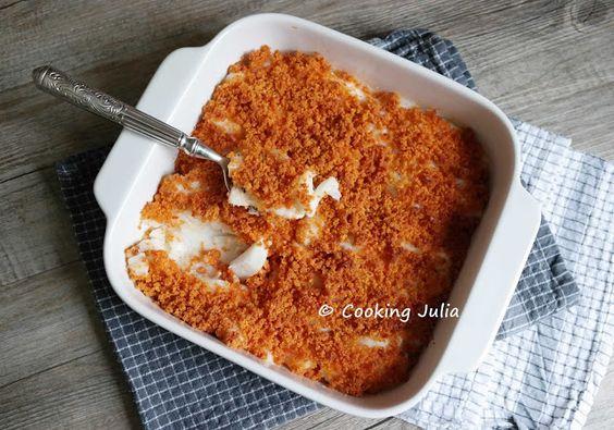 Cabillaud et son crumble de chorizo thermomix cuisine - Cuisine minceur thermomix ...