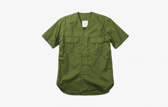 Maiden Noir | Shop | Field Scout SS Shirt - Olive