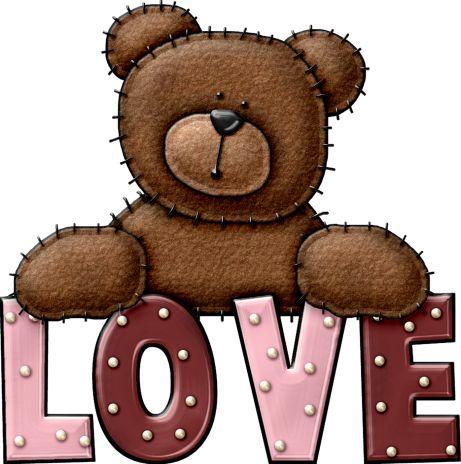 LOVE, TEDDY BEAR | Bears | Pinterest | Valentines, Pink and Teddy ...