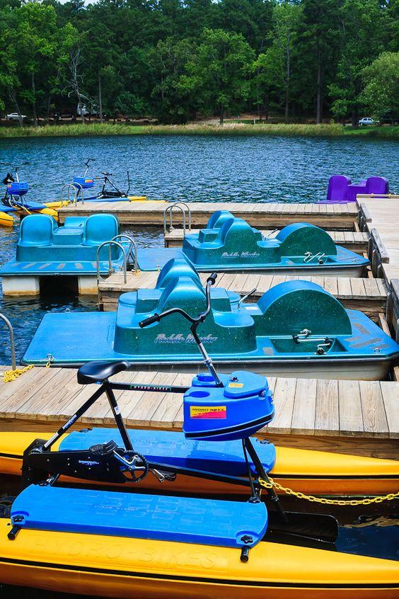 Tyler State Park Bike Rafting On Johnny Boats Boat Storage Boat Park