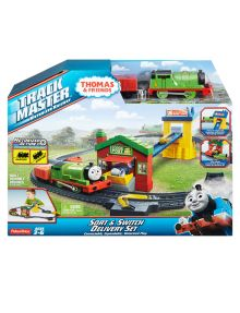 Thomas The Tank Engine Trackmaster Deluxe Set from farmers.co.nz My son is just like every other boy on the planet and LOVES Thomas... so a deluxe set - he'd be happy for hours #NewandNow
