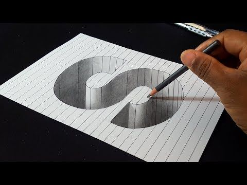 3d Drawing Butterfly How To Draw 3d Butterfly Magical Art On