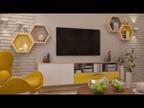 Mounting Tv On Wall Decorating Ideas Video Modern Tv Wall Mount