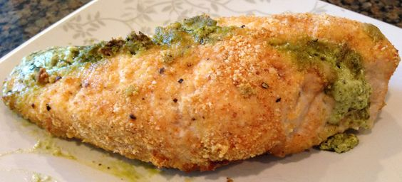 Recipe: Hazelnut Crusted Chicken Stuffed with Creamy Pesto ~ Trendy Mom Reviews