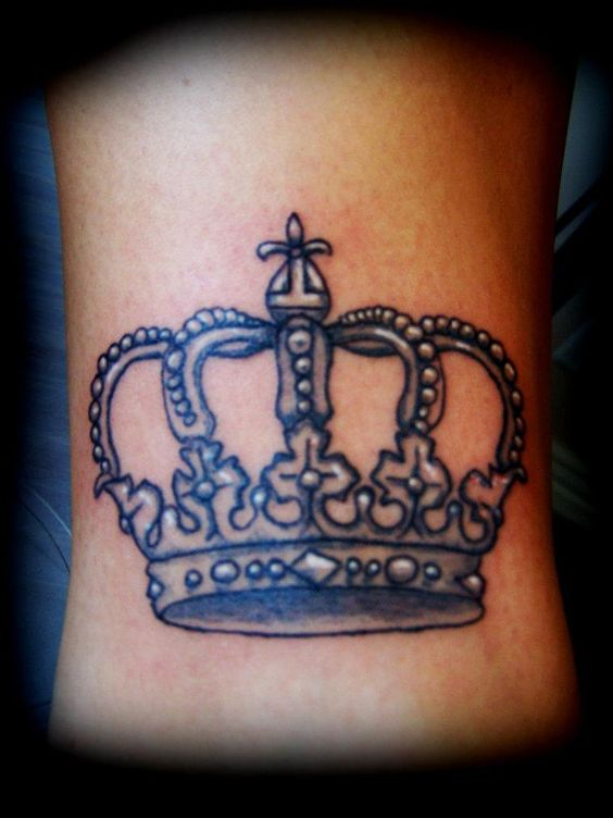 Crown Tattoo - pink in...