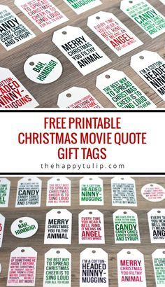 Xmas 25 the best free christmas printables gift tags holiday greeting cards gift card holders and more fun downloadable paper craft winter freebies negle Choice Image
