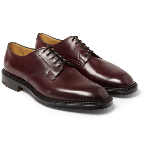 Edward Green - Windermere Cordovan Leather Derby Shoes | MR PORTER
