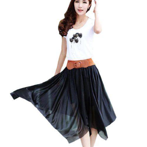 5 Farben boehmischer Rock Strandkleid Sommerkleid aus Chiffon Cocktailkleid Fashion Season, http://www.amazon.de/dp/B00JRPL8EQ/ref=cm_sw_r_pi_dp_Eroutb0HHM8G2