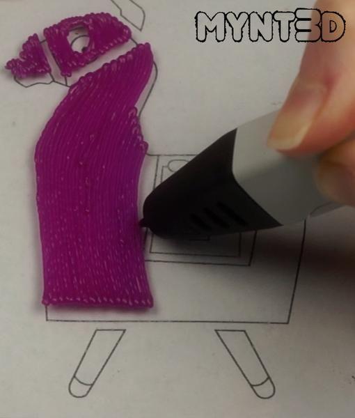 Loot Llama 3d Pen Project Pen Projects 3d Pen 3d Drawing Pen