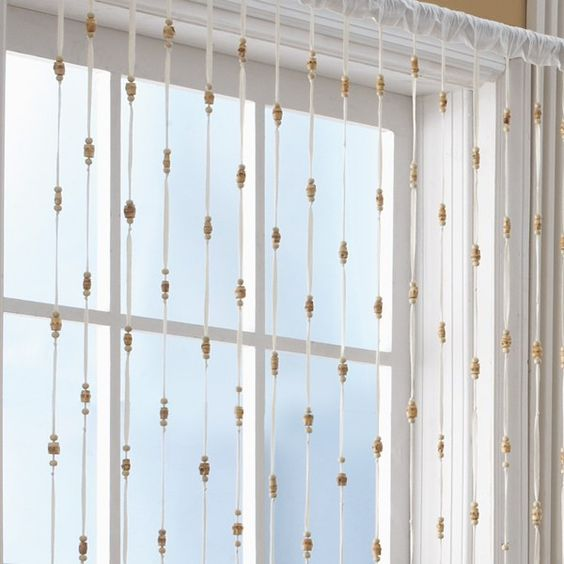 Bamboo Bead Jewelry Window Curtain Panel - Bed Bath & Beyond | For ...