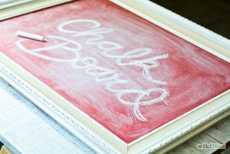 Make a Chalkboard Picture Frame