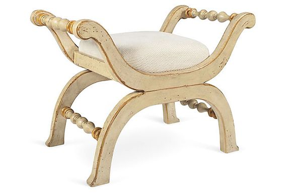 Maureen Bench, Ivory on OneKingsLane.com