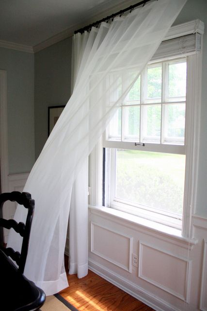 Windows With Curtains Blowing | Clover Lane: Happy First Day of ...