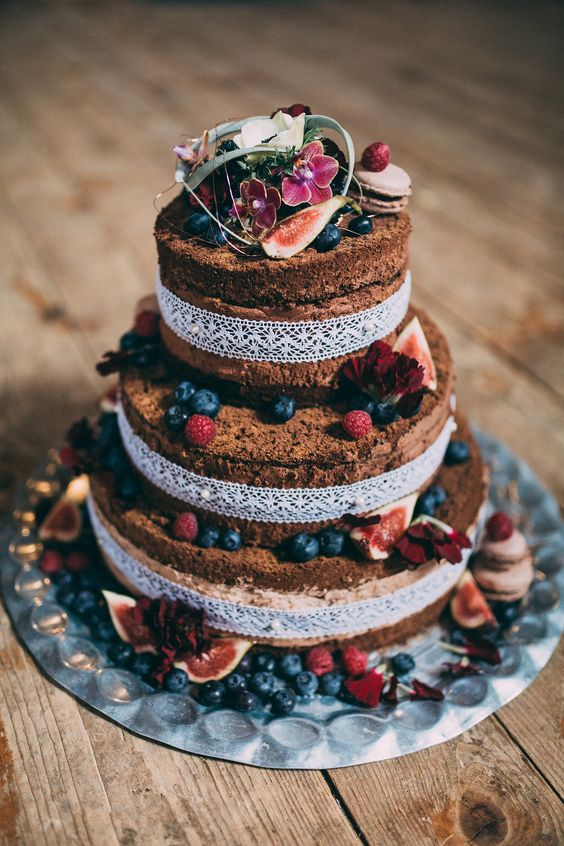 #hochzeitstorte Bohemian Marokko – Heiraten in kupfer und rot   Hochzeitsblog - The Little Wedding Corner