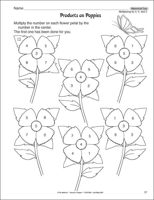 Multiplication Worksheets For 3rd Grade – Math Printable Worksheets for 3rd Grade