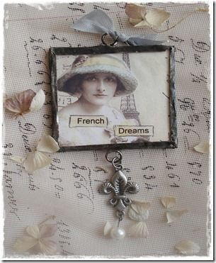 soldering tutorial: Dreams, Charms, Crea Shabby Vintage, Art Jewelry, French, Picture Frames, Soldering Tutorial