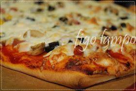figo lampo: Pizza familiar da Manuela