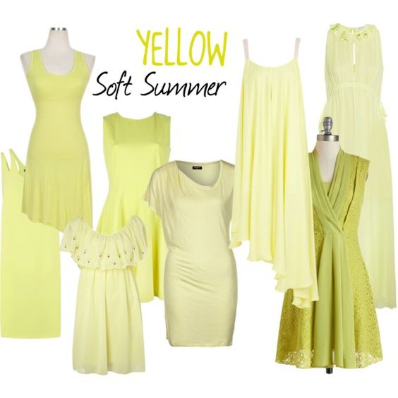 """Soft Summer Yellow"" by colorazione on Polyvore:"