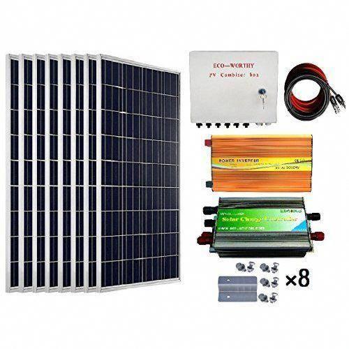 Amazon Com Tiny House 600w Off Grid Solar Power System Small Base Kit Garden Outdoor Solarpanels Sola Solar Panel Kits Solar Power System Solar Panels