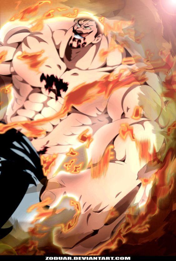 Escanor The One By Zoduar Deviantart Com On Deviantart Anime Seven Deadly Sins Anime Escanor Seven Deadly Sins