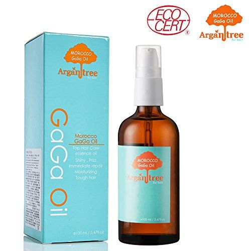 GRAND OPENING PROMOTION - BUY 1 100ml and GET 1 10ml FOR FREE!!! Argan Tree Morocco Gaga Oil For Hair - 100% Organic Certified & Imported from Morocco. Added with snail essence & other fruits extract.- Prevents Frizz & Revitalizes Natural Hair Shine & Silkiness - See immediate result with its instant absorption feature from this lightweight, and delicate natural oil -100% Satisfaction Guaranteed (3.4 Oz / 100ml) - http://essential-organic.com/grand-opening-pro