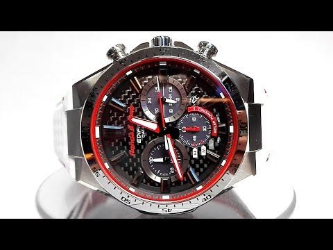 Casio Edifice Eqs 800hr 1a Honda Racing Limited Edition Solar Powered Wa Casio Edifice Casio Honda