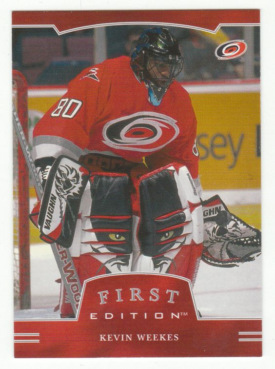 Kevin Weekes # 248 - 2002-03 BAP First Edition Hockey
