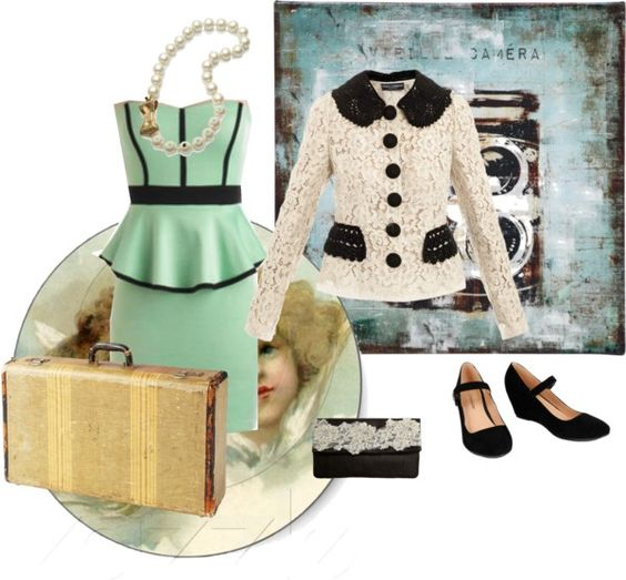 """How very Vintage!"" by paca86 on Polyvore"