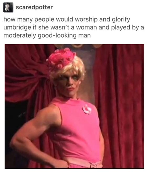I do worship and glorify this Umbridge 💀: