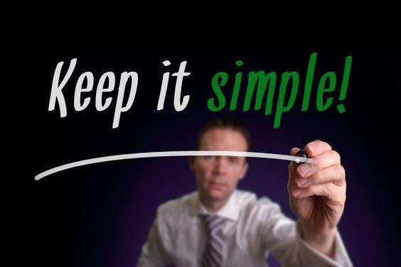Fab new blog written by our guest blogger Jody Fletcher - Keeping It Simple