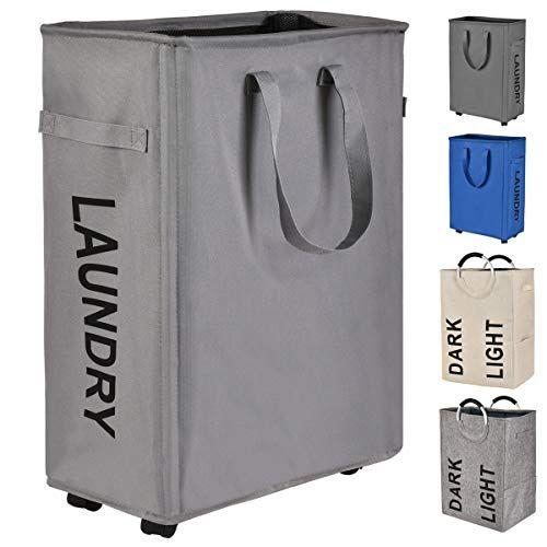 Prodigen Rolling Slim Laundry Hamper Basket Foldable Wat Https