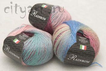 Пряжа SEAM RAINBOW - СЕАМ <- Пряжа для ручного вязания - Каталог | Пряжа для города