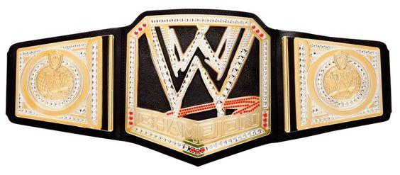 WWE World Heavyweight Wrestling Championship Title Belt Kids Birthday Gift New #Mattel