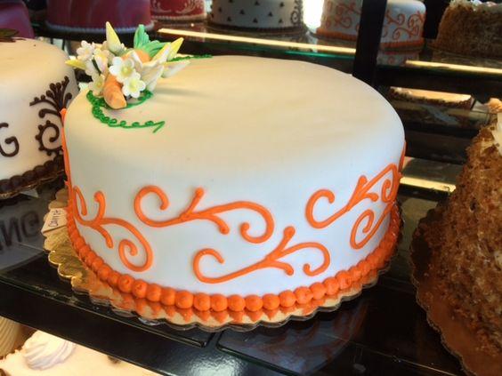 Carrot Cake #CarrotCake #FondantCake