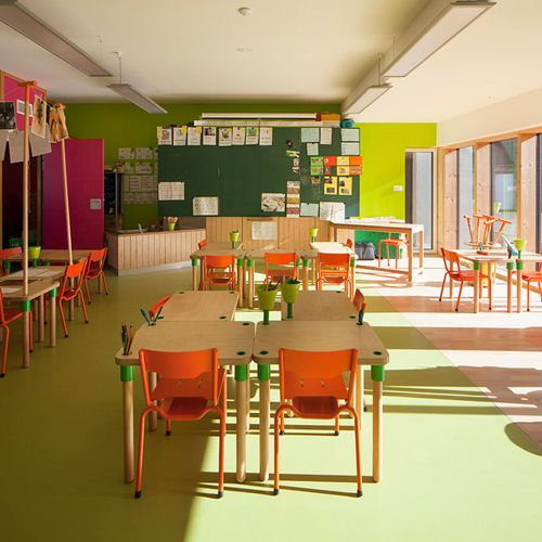Classroom Design In Early Childhood ~ Kindergarten classroom france the architecture of early
