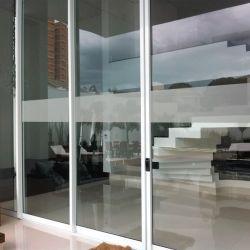 Adesivo jateado para portas ou janelas de vidro