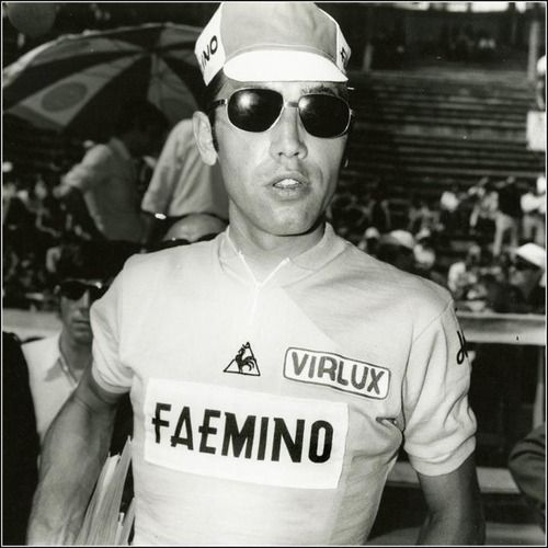 youcantbuyland:  Eddy looking super cool at the 1970 Tour de France. Image from: http://www.hortoncollection.com/