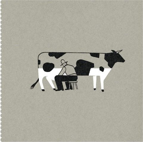 cow half full