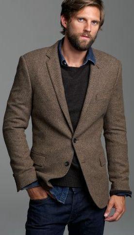 Herringbone sport coat my style pinterest coats for Sport coat with t shirt
