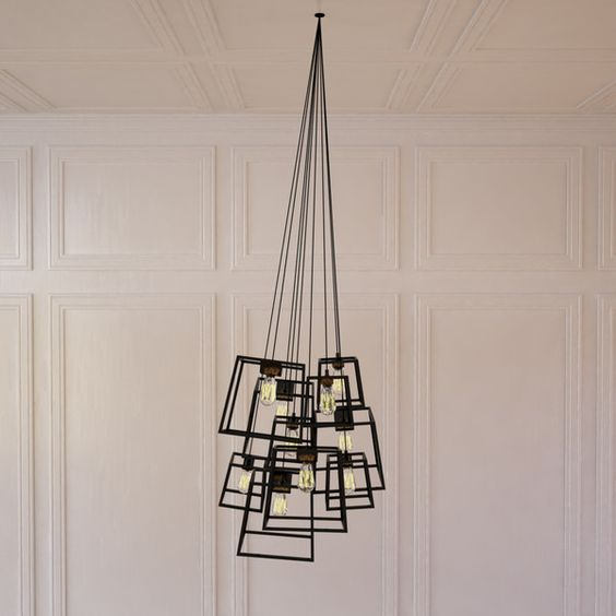 Large Frame Light Cluster by iacoli & mcallister