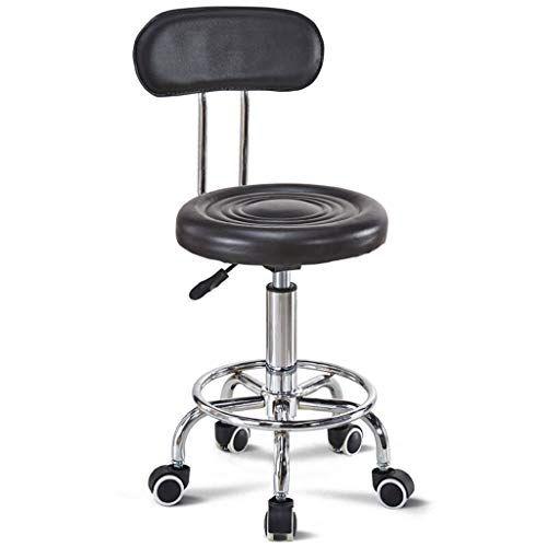 A Fort Breakfast Kitchen Counter Chair Swivel Adjustable Bar Stool Black Back Swivel Chair Movable Wheel Adjustable Bar Stools Kitchen Bar Stools Bar Stools