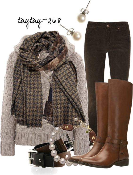 """Browns"" by taytay-268 on Polyvore:"