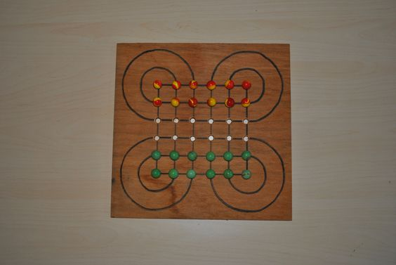 DIY games  jeux en bois  SURAKARTA