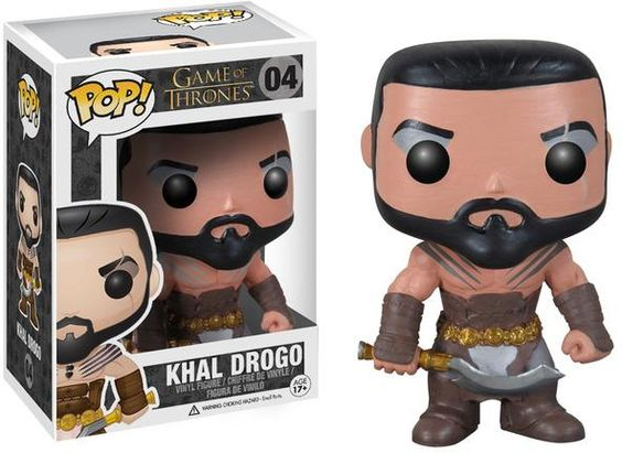 $19 Figura Khal Drogo 10 cm