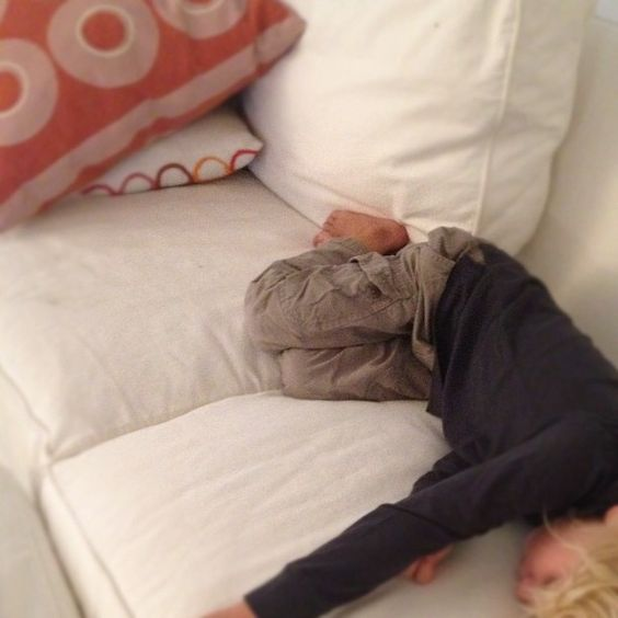 Asleep before dinner - sometimes its just too fun.